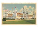 Automotive Building, Great Lakes Exposition, Cleveland Posters