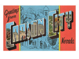 Greetings from Carson City, Nevada Prints