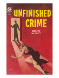 Unfinished Crime Poster