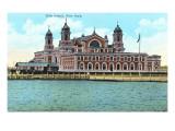 Ellis Island, New York Harbor Posters
