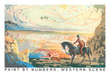 Paint by Numbers, Western Scene Posters
