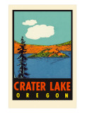 Crater Lake, Oregon Poster