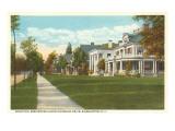 Riverside Drive, Binghamton, New York Print