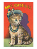 Mrs. Catskill, Greetings from Catskill Mts., NY Posters