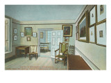 Interior, Washington's Headquarters, Valley Forge, Pennsylvania Prints