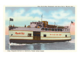 Ferry to Put-in-Bay, Ohio Prints