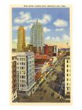 Main Street, Oklahoma City, Oklahoma Poster