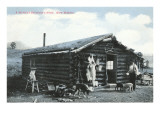 Rustic Cabin, Bachelor with Dogs Prints