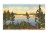 Upper Saranac Lake, New York Póster