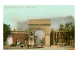 Washington Memorial Arch, New York City Poster