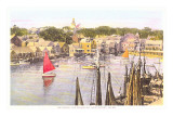 Between the Wharves, Nantucket, Massachusetts Posters
