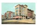 Court and Washington Streets, Binghamton, New York Prints
