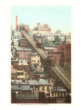 Mt. Adams Incline, Cincinnati, Ohio Poster