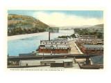 Chenango River, Binghamton, New York Posters