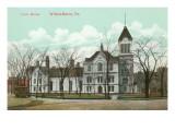 Courthouse, Wilkes-Barre, Pennsylvania Print