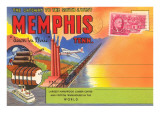 Postcard Folder, Memphis, Tennessee Prints