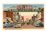 Virginia Street, Reno, Nevada Poster