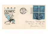 First Day Cover Philatelic Issue, Olympic Games Prints