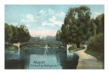 Washington Park, Albany, New York Kunstdrucke