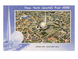Overview, New York World's Fair, 1939 Posters