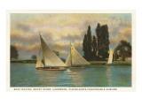 Boat Racing, Lakewood, Ohio Posters