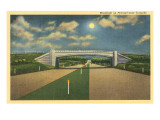 Moonlight on Pennsylvania Turnpike Prints