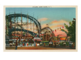 Cyclone, Coney Island, New York City Posters