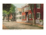 Church Haven, Main Street, Nantucket, Massachusetts Prints