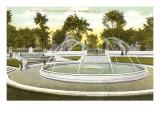 Gates Circle, Buffalo, New York Prints