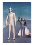 Robot from Day the Earth Stood Still Print