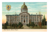 State Capitol, Salem, Oregon Prints