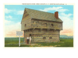 Block House, Bemis Heights, Saratoga, New York Prints