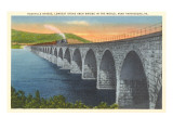 Rockville Bridge, Harrisburg, Pennsylvania Prints
