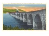 Rockville Bridge, Harrisburg, Pennsylvania Prints