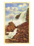Bridal Veil Falls, Niagara Falls Print