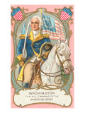Washington on Horseback Print