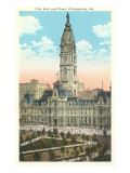 City Hall, Philadelphia, Pennsylvania Prints