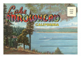 Postcard Folder, Lake Arrowhead, California Posters