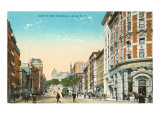State Street, Albany, New York Poster