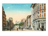 State Street, Albany, New York Print