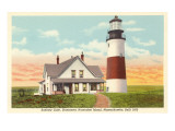 Sankaty Lighthouse, Nantucket, Massachusetts Prints