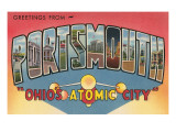 Greetngs from Portsmouth, Ohio Posters