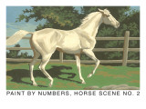 Paint by Numbers, Horse Scene Number Two Prints