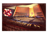 United Nations General Assembly Hall, New York City Prints