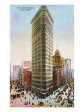 Flat Iron Building, New York City Posters