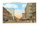 Falls Street, Niagara Falls, New York Print