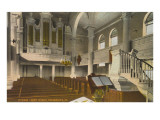 Interior, Christ Church, Philadelphia, Pennsylvania Posters