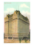 New Plaza Hotel, New York City Prints