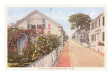 Quince Street, Nantucket, Massachusetts Prints
