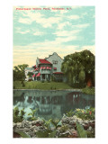 Willow Pond, Rochester, New York Prints